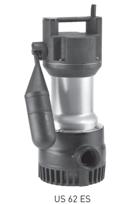US 62-251 - Jung Pumpen Building Services - Submersible Sump Pumps