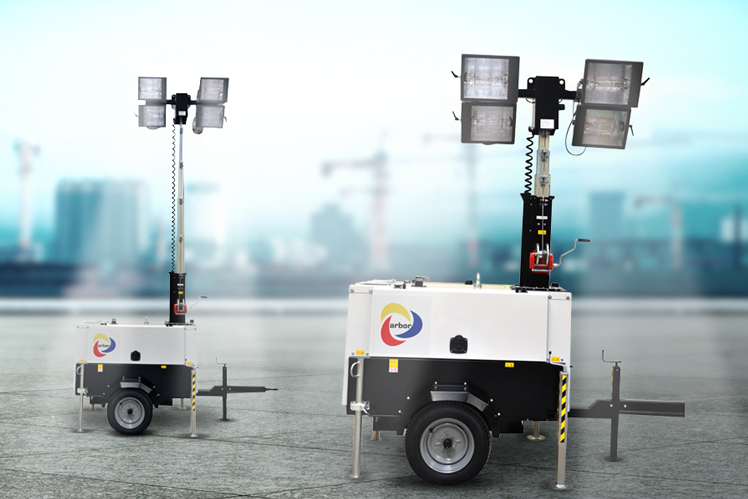 PORTABLE LIGHTING TOWERS